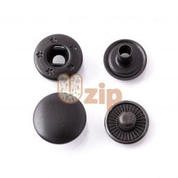 Кнопка 54 размер 15 мм черный мат