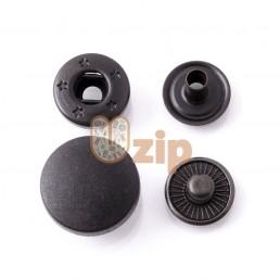 Кнопка пластиковая WDS размер 15 мм черная